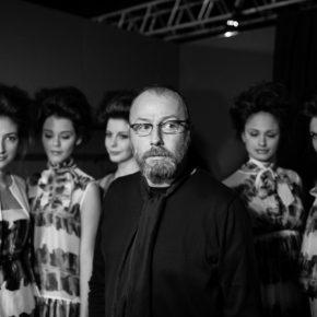 Nino Lettieri  backstage Alta Moda Roma